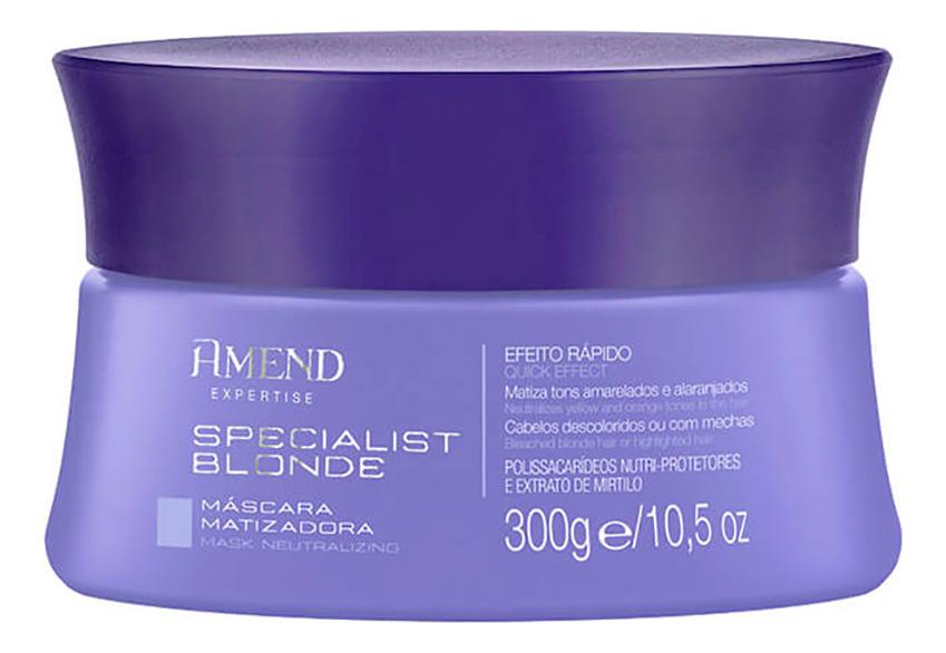 Купить Маска для волос Neutralizing Specialist Blond Mask 300мл, Amend