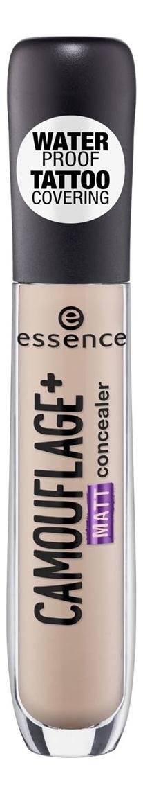 Консилер для лица Essence Camouflage+ Matt Concealer 5мл: 20 Light Ivory консилер для лица liquid camouflage 5мл 001 fair ivory