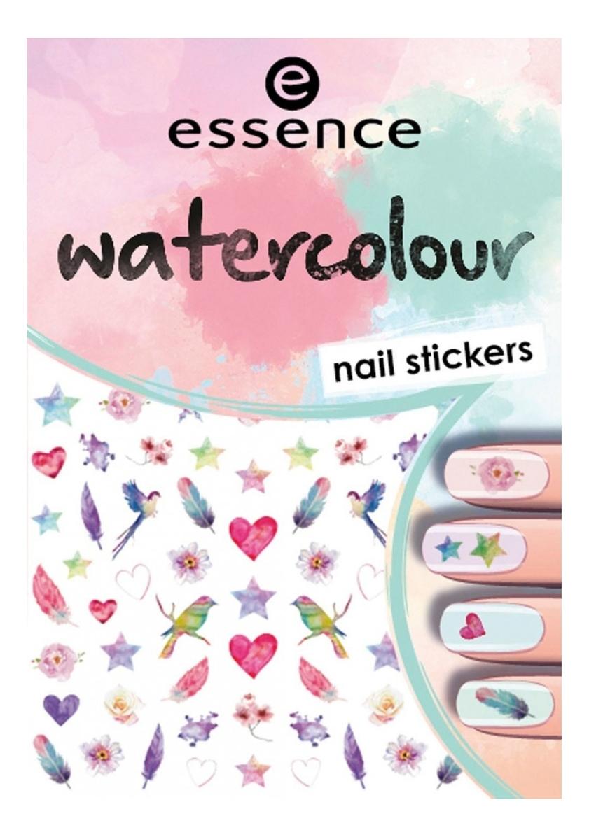 Наклейки для ногтей Watercolour Nail Stickers No07