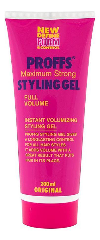 Гель-стайлинг Maximum Strong Styling Gel 200мл