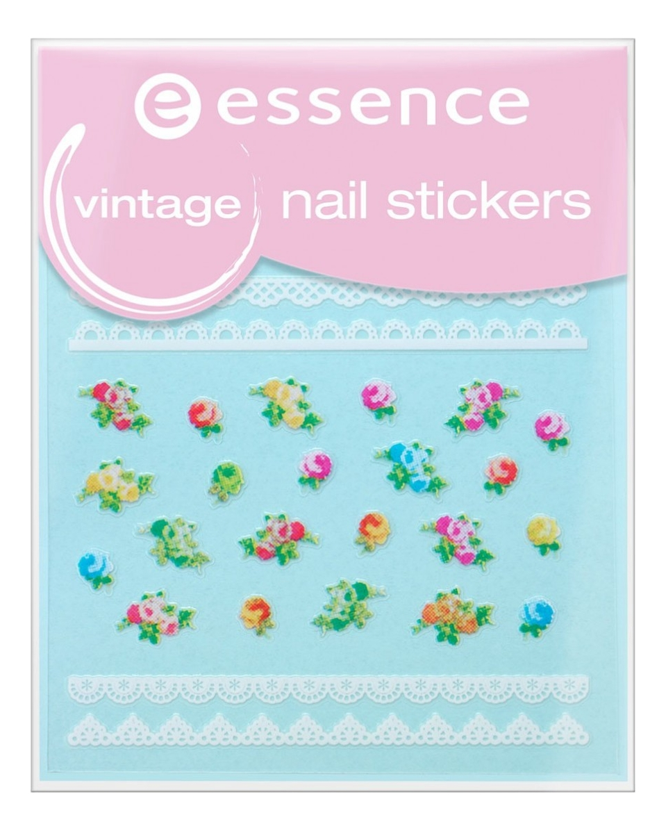 Наклейки для ногтей Vintage Nail Stickers No17
