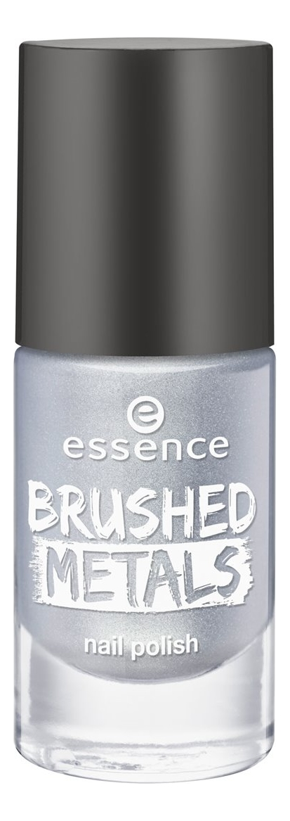 Лак для ногтей Brushed Metals Nail Polish 8мл: 01 Steel The Show