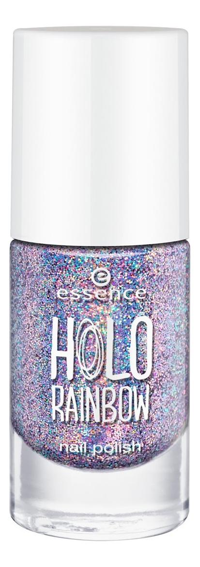Лак для ногтей Holo Rainbow Nail Polish 8мл: 05 Fever