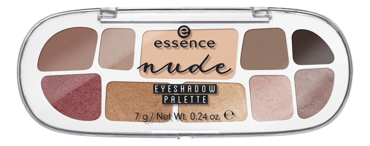 Палетка теней для век Nude Eyeshadow Palette 7г