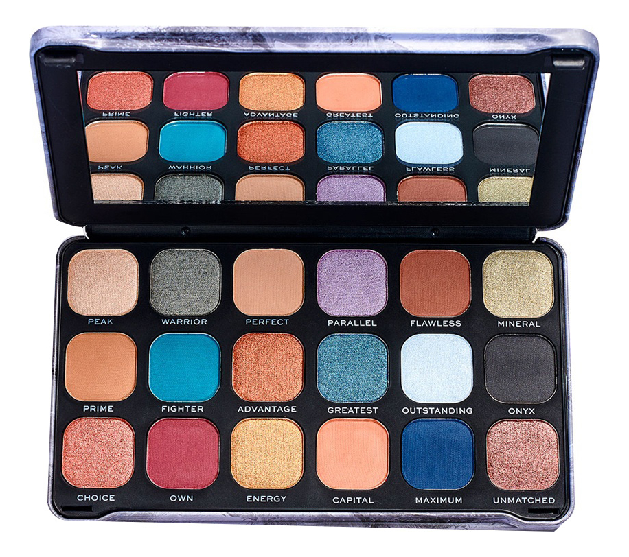 Фото - Палетка теней для век Forever Flawless Palette: Optimum палетка теней для век 32 eyeshadow palette 20г flawless