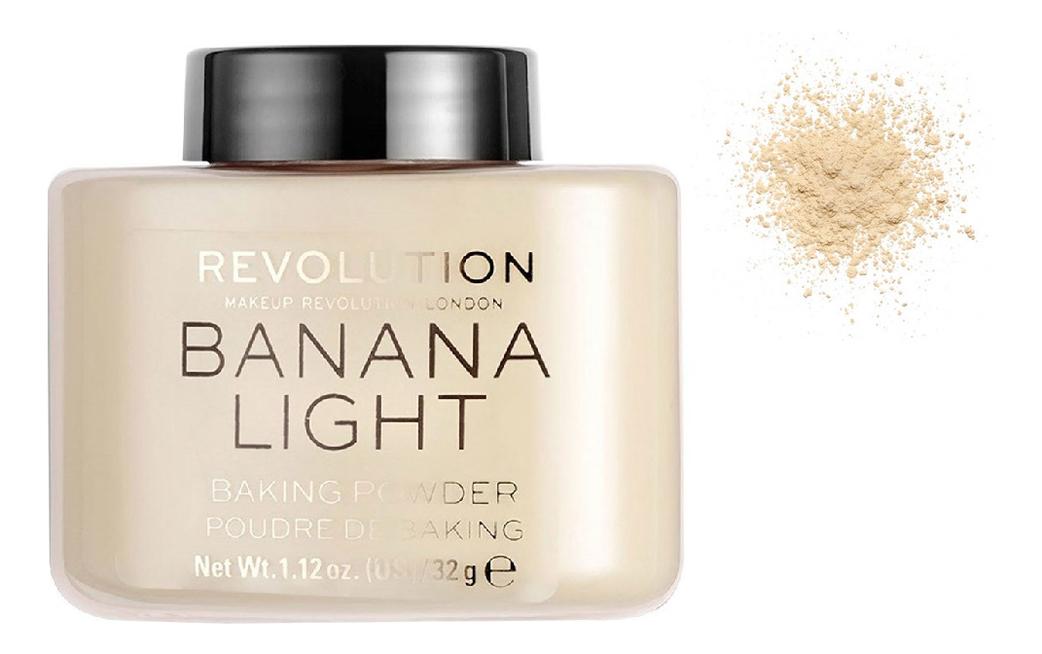 Рассыпчатая пудра для лица Baking Powder 32г: Banana Light рассыпчатая пудра для лица dior forever cushion powder 10 мл