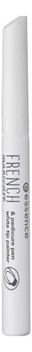 цена на Лак для французского маникюра в карандаше French Manicure & Pedicure Pen (белый)