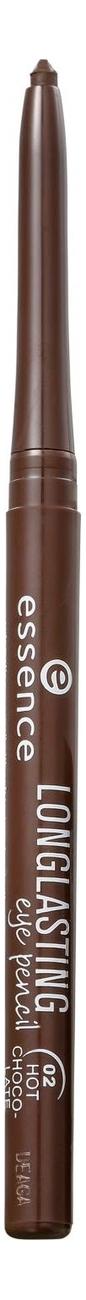 Карандаш для глаз Long Lasting Eye Pencil 0,28г: 02 Hot Chocolate недорого