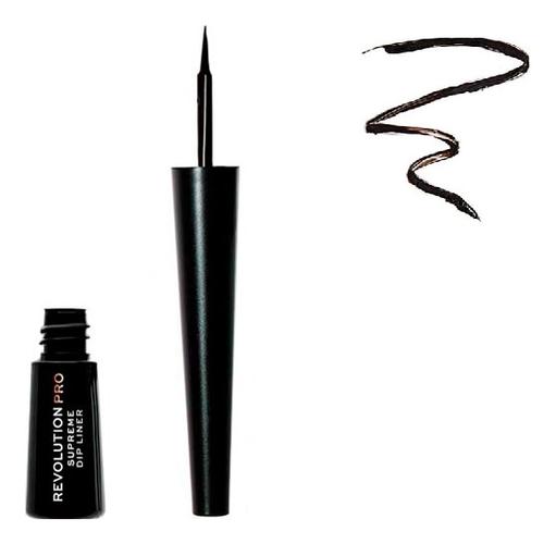Жидкая подводка для глаз Supreme Pigment Dip Eyeliner: Black