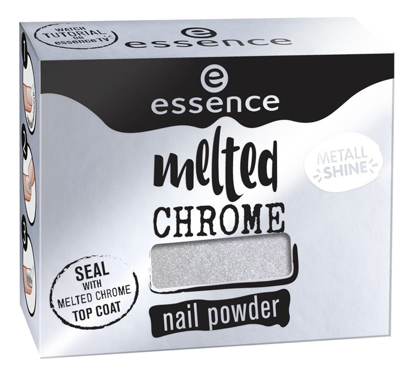 Пудра-втирка для ногтей Melted Chrome Nail Powder 1г: 06 All Roads Lead To Chrome