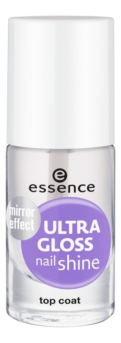 Верхнее покрытие для ногтей с блеском Ultra Gloss Nail Shine Top Coat 8мл essence верхнее покрытие для лака wanted sunset dreamers top coat 3 цвета 03 dream catcher