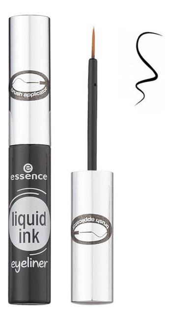 Фото - Подводка для глаз Liquid Ink Eyeliner 3мл: 01 Black подводка для глаз matte signature eyeliner 3мл 03 каштановый