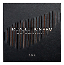 Revolution PRO Хайлайтер для лица 4K Highlighter Palette 16г