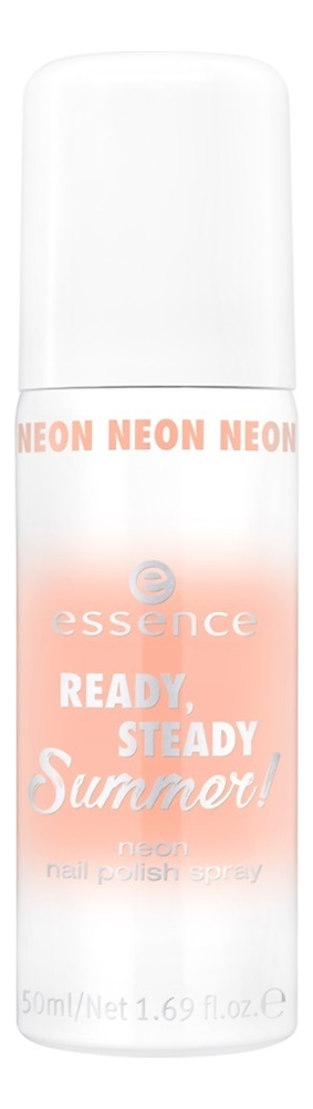 Спрей-лак для ногтей Ready, Steady, Summer! Neon Nail Polish Spray 50мл: 02 No Pain, Gain