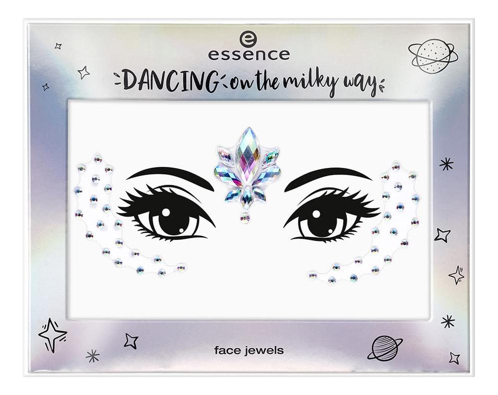 Купить Наклейки-украшения для лица Dancing On The Milky Way Face Jewels No02, essence