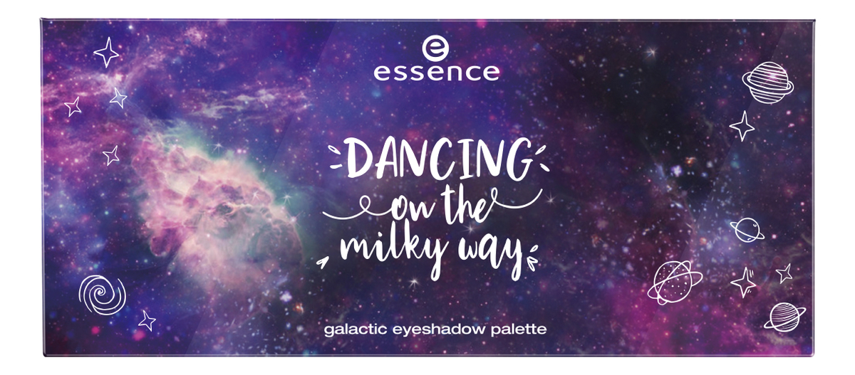 Палетка теней для век Dancing On The Milky Way Galactic Eyeshadow Palette