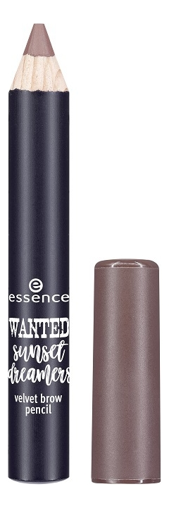 Карандаш для бровей Wanted: Sunset Dreamers Velvet Brow Pencil 1,7г: 02 Chasing Sunsets essence верхнее покрытие для лака wanted sunset dreamers top coat 3 цвета 03 dream catcher