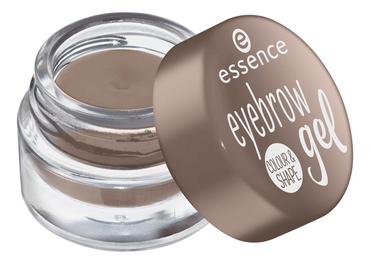 Гель для бровей Eyebrow Gel Colour & Shape 3г: 01 Brown
