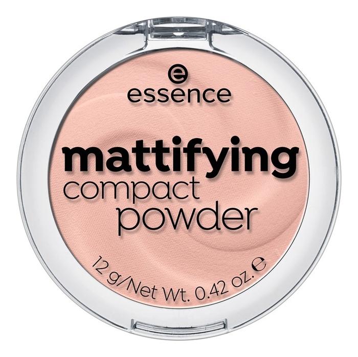Купить Компактная пудра для лица Mattifying Compact Powder 12г: 10 Light Beige, essence