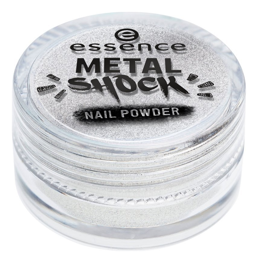 Пудра-втирка для ногтей Metal Shock Nail Powder 1г: 01 Mirror, Mirror On The Nail