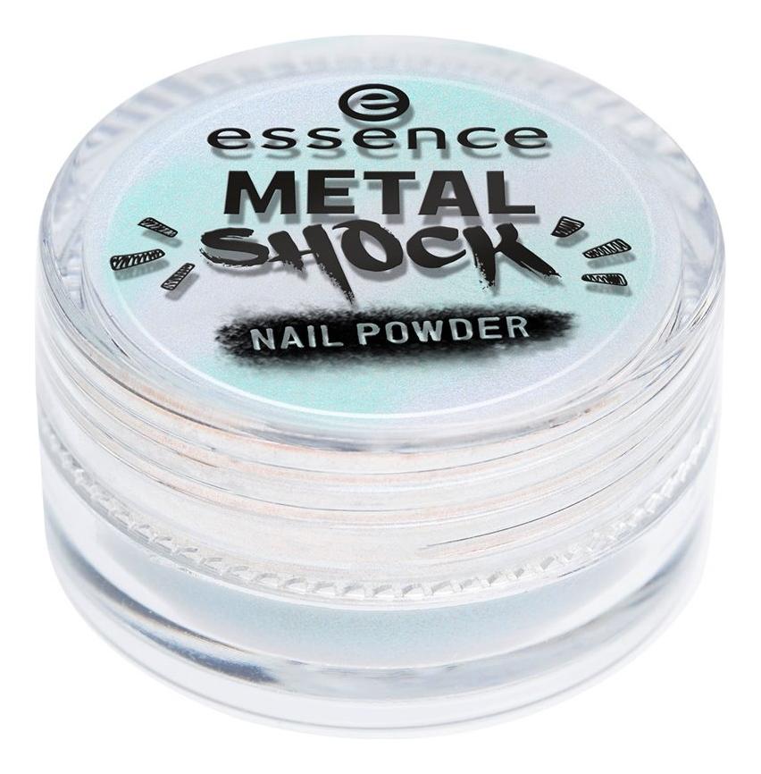 Пудра-втирка для ногтей Metal Shock Nail Powder 1г: 06 Be My Little Mermaid