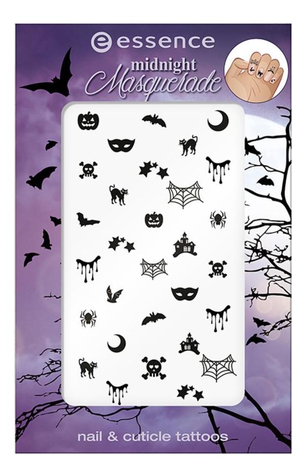 Наклейки для ногтей Midnight Masquerade Nail & Cuticle Tattos