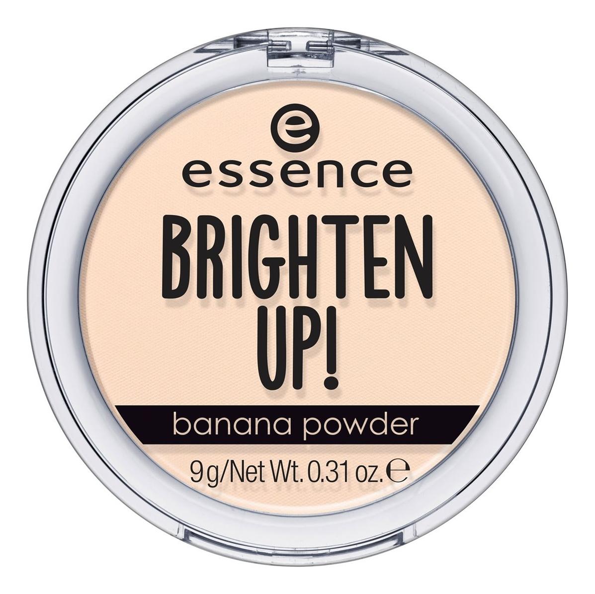 Матирующая компактная пудра для лица Brighten Up! 9г: Banana Powder