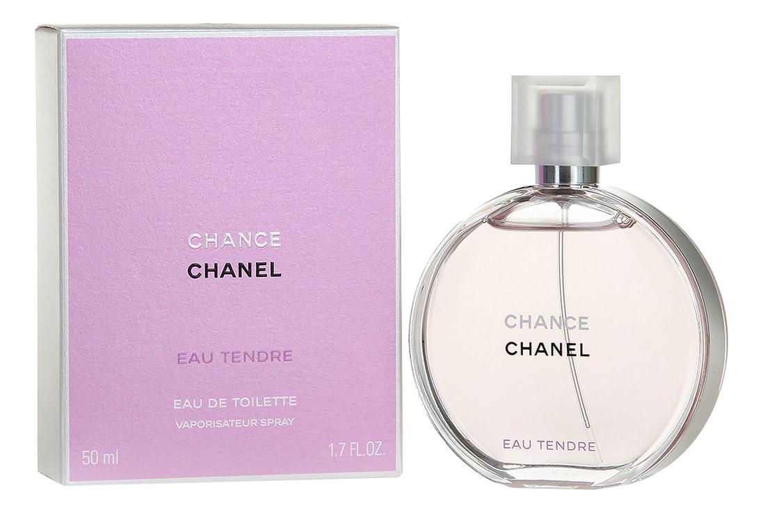 Chanel Chance Eau Tendre: туалетная вода 50мл недорого