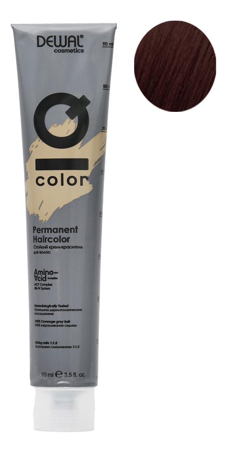 Стойкий крем-краситель для волос на основе протеинов риса и шелка Cosmetics IQ Color Permanent Haircolor 90мл: 5.32 Light Gold Pearl Brunette