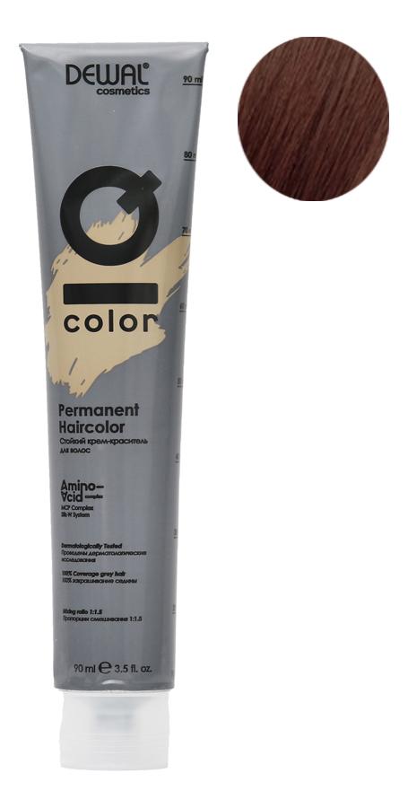 Стойкий крем-краситель для волос на основе протеинов риса и шелка Cosmetics IQ Color Permanent Haircolor 90мл: 6.18 Dark Ash Brown Blonde фото