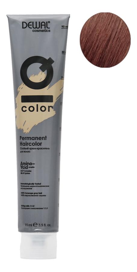 Стойкий крем-краситель для волос на основе протеинов риса и шелка Cosmetics IQ Color Permanent Haircolor 90мл: 6.4 Dark Copper Blonde фото