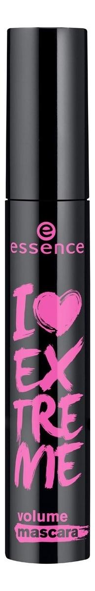 Тушь для ресниц I Love Extreme Volume Mascara Black 12мл essence тушь для ресниц the false lashes mascara extreme volume and curl black