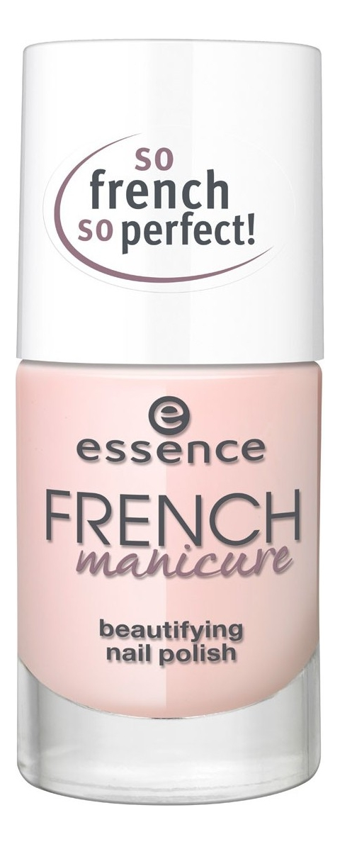 цена на Лак для французского маникюра French Manicure Beautifying Nail Polish 10мл: 02 French Are Forever