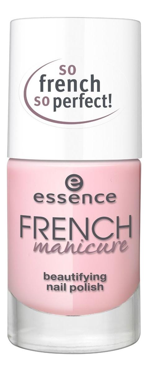 Лак для французского маникюра French Manicure Beautifying Nail Polish 10мл: 01 Girls Best