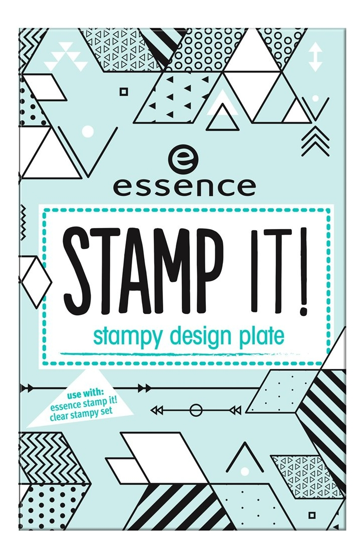 Трафареты для дизайна ногтей Stamp It! Stampy Design Plate No02 Shapes Of Glory