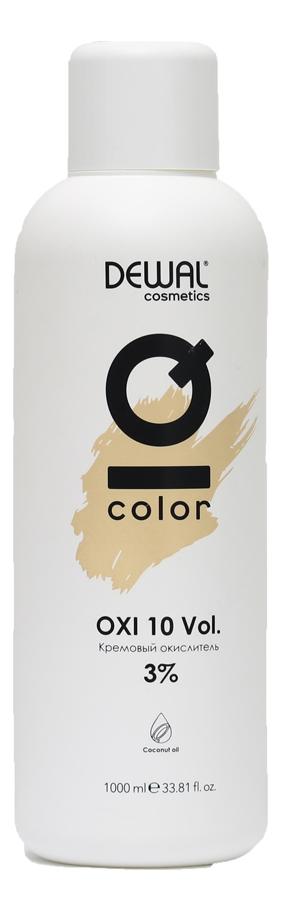 Купить Кремовый окислитель с кокосовым маслом Cosmetics IQ Color OXI 3%: Окислитель 1000мл, Dewal