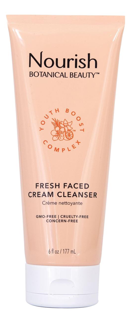 Крем-пенка для умывания Botanical Beauty Fresh Faced Cream Cleanser 177мл