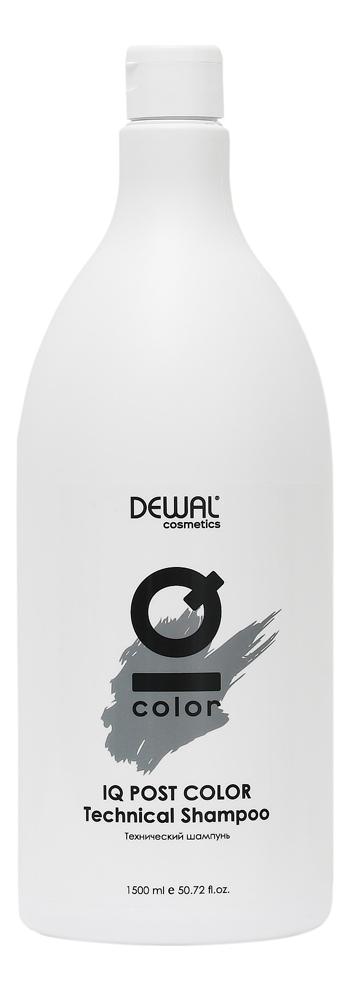 Купить Технический шампунь для волос Cosmetics IQ Color Post Тechnical Shampoo 1500мл, Dewal