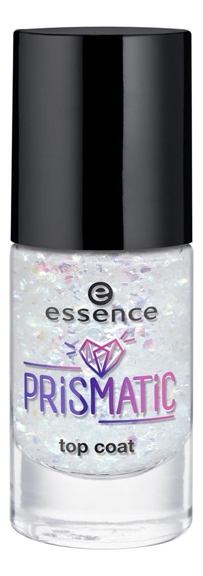Верхнее покрытие для ногтей Prismatic Top Coat 8мл: 39 Prisma Love верхнее матовое покрытие для ногтей wanted sunset dreamers top coat 8мл no 01