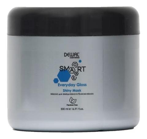 Купить Маска для ежедневного блеска волос Cosmetics Smart Care Everyday Gloss Shiny Mask: Маска 500мл, Dewal