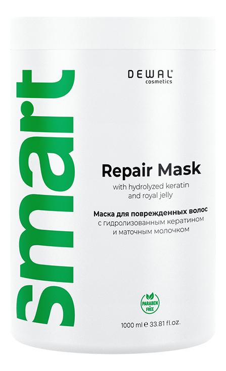 Маска восстанавливающая для поврежденных волос Cosmetics Smart Care Repair Mask: Маска 1000мл matrix маска для поврежденных волос total results so long damage mask 150 мл
