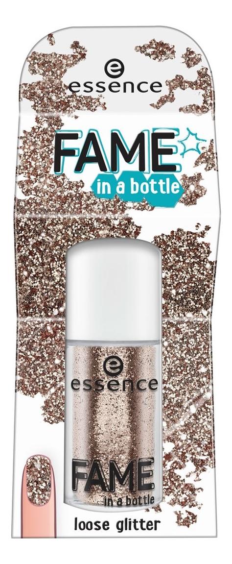 блестки для ногтей no 50g shapefor pdds 008 Рассыпчатые блестки для ногтей Loss Glitter 1,8г: 02 Fame In A Bottle