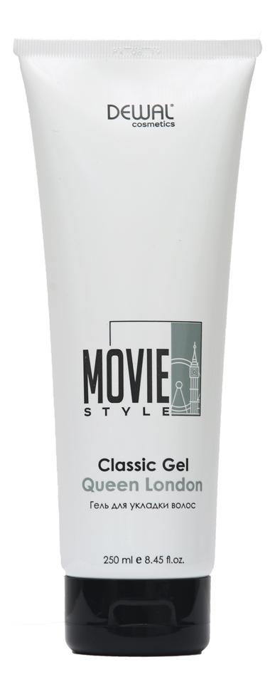 Гель для укладки волос Movie Style Classic Gel Queen London 250мл