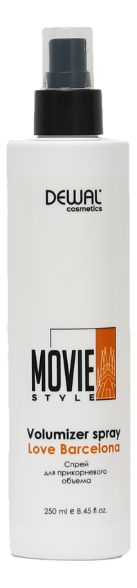 Фото - Спрей для прикорневого объема Movie Style Volumizer Spray Love Barcelona 250мл dewal cosmetics спрей для прикорневого объема movie style love barcelona 250 мл
