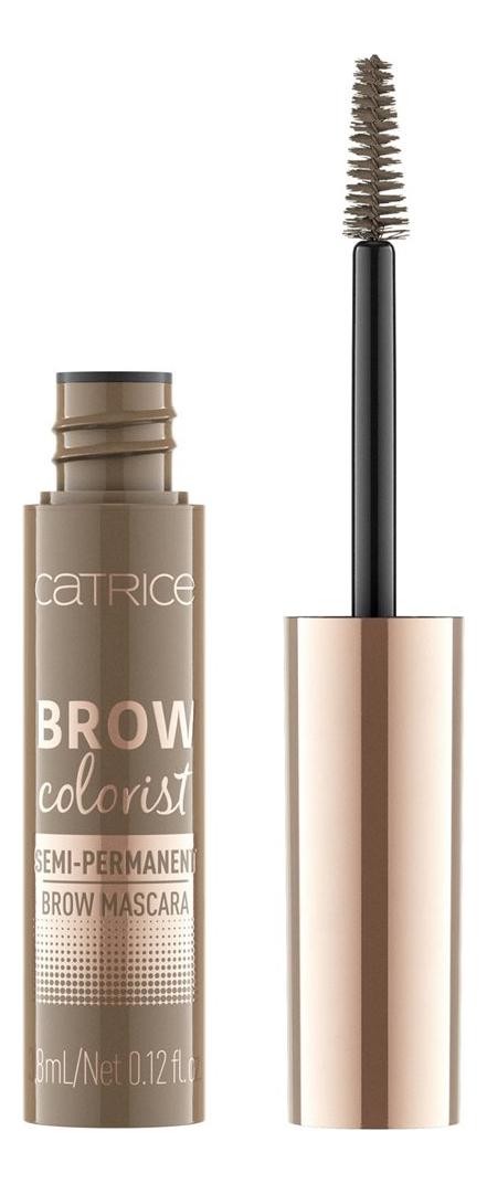 Тушь для бровей Brow Colorist Semi-Permanent Brow Mascara 3,8мл: 015 Soft Brunette фото