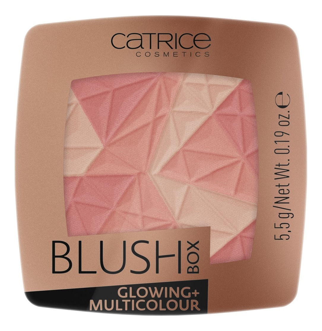 Купить Румяна для лица Blush Box Glowing + Multicolour 5, 5г: 010 Dolce Vita, Catrice Cosmetics
