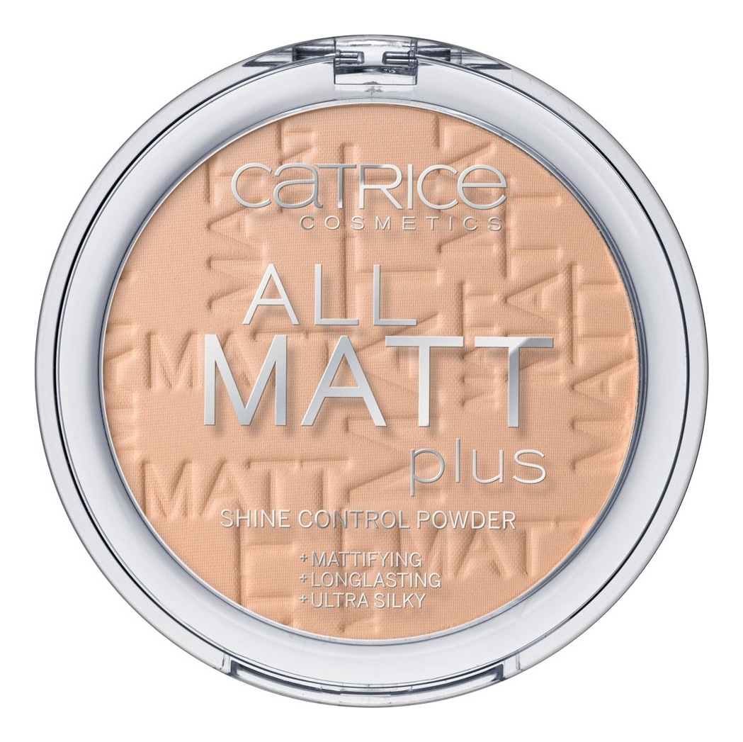 Компактная пудра для лица All Matt Plus Shine Control Powder 10г: 025 Sand Beige компактная пудра для лица all matt plus shine control powder 10г 001 universal