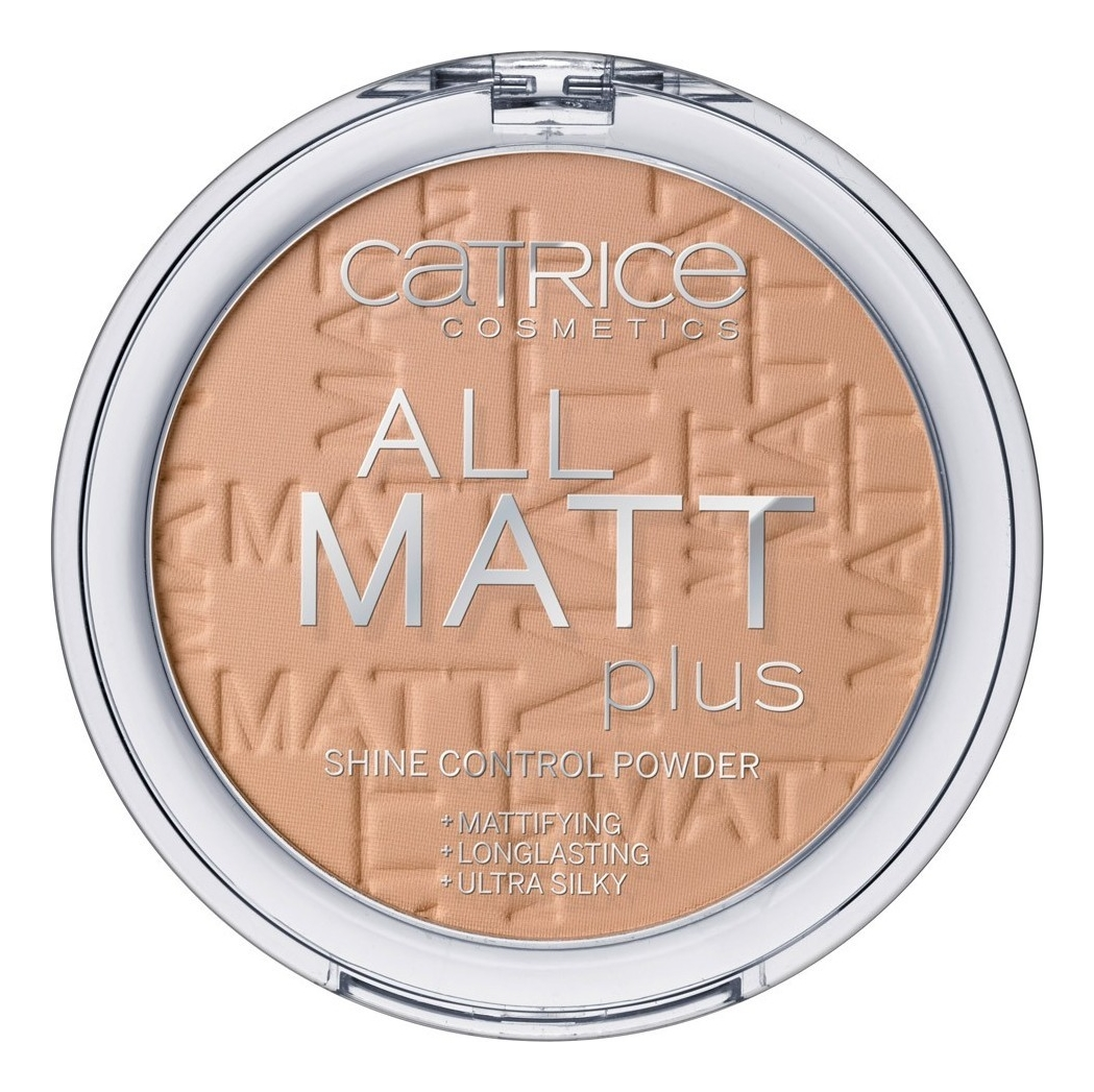Компактная пудра для лица All Matt Plus Shine Control Powder 10г: 030 Warm Beige компактная пудра для лица all matt plus shine control powder 10г 001 universal