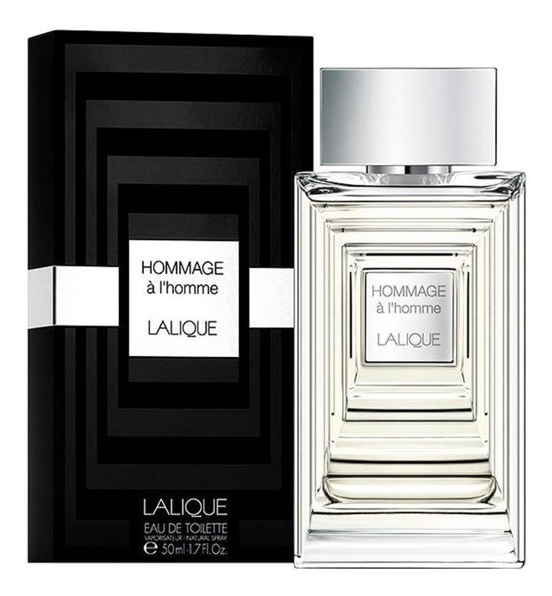 Купить Hommage a L'Homme: туалетная вода 50мл, Lalique