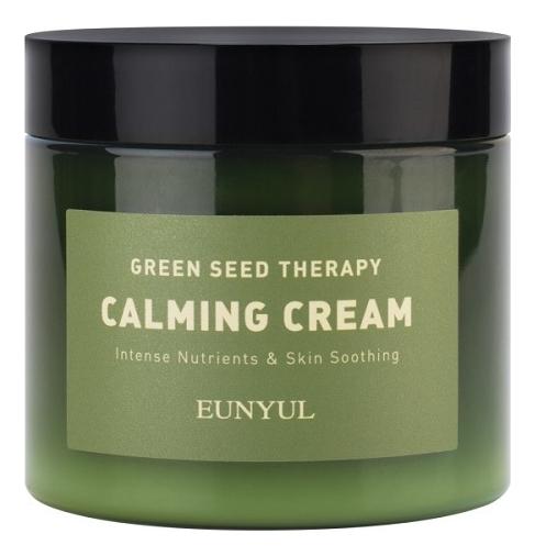 Успокаивающий крем-гель для лица с экстрактами зеленых плодов Green Seed Therapy Calming Cream 270мл chi luxury black seed oil curl defining cream gel